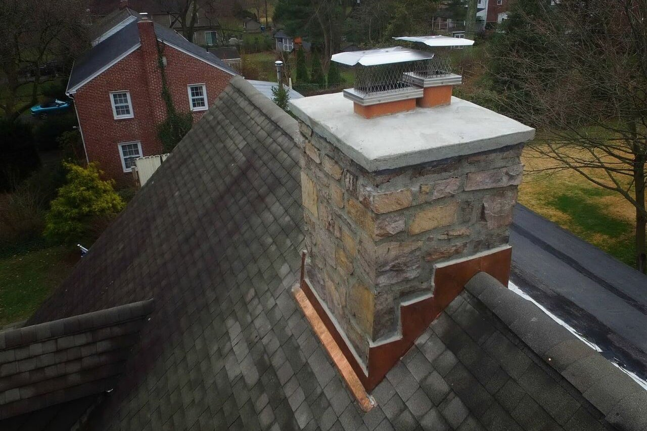 chimney pointing and crown repair Wayne Pa